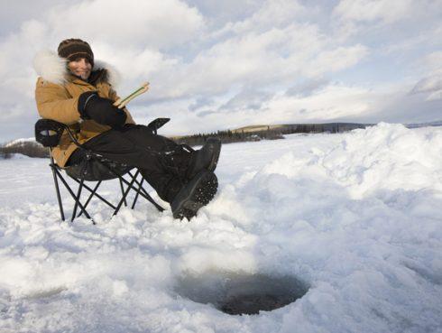 Horgászat télen