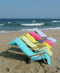 Strandkendő a komfortérzet kialakításához