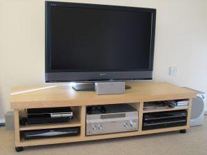 TV fali konzol